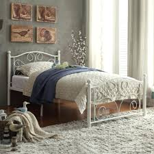 White Wrought Iron King Size Headboards by Metal Headboard And Footboard Queen Wrought Iron Ideas King Size