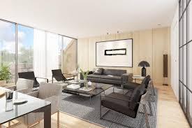 wohnzimmer modern rendering vizua