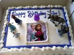 Lily s Frozen birthday cake We ordered a Costco cake and