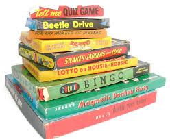 Vintage 1950s 1960s Board Games