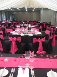 Pink And Black Wedding Chair Covers.... Rachael Long-these Would Be ... Black Tablecloths White Chair Covers Holidays And Events White Black Banquet Chair Covers Hashtag Bg Sashes Noretas Decor Inc Cover Stretch Elastic Ding Room Wedding Spandex Folding Party Decorations Beautifull Silver Sash Table Weddings With Classic Set The Mood Joannes Event Rentals Presyo Ng Washable Pink Wedding Sashes Napkins Fvities Mns Premier Event Rental Decor Floral Provider Reception Room Red Interior