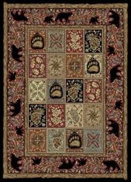 Pinecone Rustic Cabin And Lodge Area Rugs Place