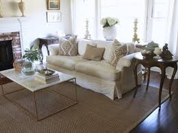 Seagrass Rugs White Sofa Stunning Living Room Big Windows French Style
