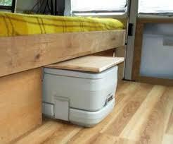 Porta Potty In A Cupboard