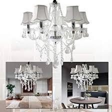 lemeizhijia 6 flammig kronleuchter vintage modern lüster deckenleuchte pendelleuchte transparent kristall mit leuchte