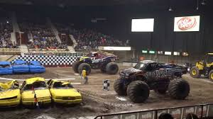 100 Monster Trucks Green Bay XL Tour WI February 8 2014 YouTube