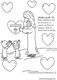 Jesus Christ Love Coloring Pages Print Download 334 Prints
