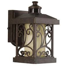 Outdoor Light With Motion Sensor Lighting Throughout Wall Plans 4
