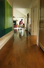 Pine Wood Flooring Eastern White Floors In A Hallway