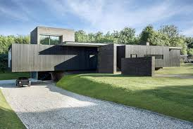 100 Garden Home Design Contemporary Black House Designed By By AR Studio And