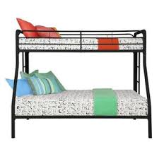 Dorel Twin Over Full Metal Bunk Bed by Dhp Twin Over Full Bunk Bed With Mattresses Sears Marketplace