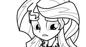 Watch Hard My Little Pony Coloring Pages Sunset Shimmer