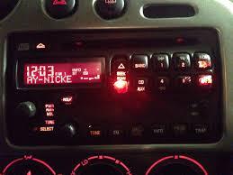 factory radio light replacement genvibe community for pontiac