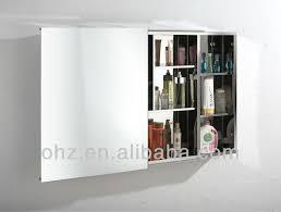 neue design edelstahl schiebetür bad spiegel schrank a7009 buy schiebetür bad spiegelschrank bad spiegelschrank spiegel schrank product on