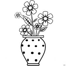 Will Clipart Colored Flower Vase Clip Arth Vases Infoi 0d Drawing