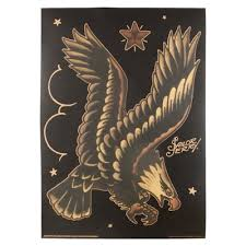 EAGLE TATTOOSEagles Are Symbols For America Representing Honor Prowess And Intelligence Sailor Jerry As A Patriot Who Was Acutely Aware Of