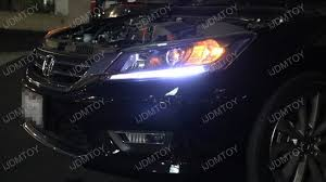 honda accord oem look led daytime running light retrofit strips
