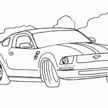Car Coloring Pages 4 Cars Free Printable