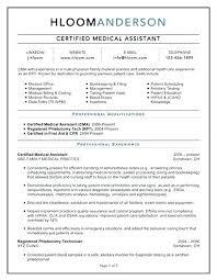 Medical Transcription Resume Samples Certified Assistant