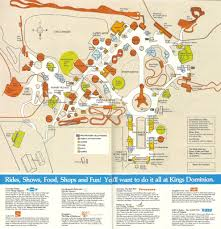 Kings Dominion Halloween Haunt Jobs by Kings Dominion 1992 Theme Park Maps Pinterest Amusement