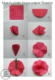 How Ro Make A Paper Flower
