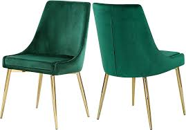 Amazon.com: Meridian Furniture 783Green-C Karina Collection Green ... High End Velvet Button Upholstered Ding Chair Juliettes Interiors Which Is Better Or Leather For Chairs Modway Pose Gray Fabric Eei2577gry The Midcentury West Elm Uk Natalie Modern Classic Black Oak Frame Grey David Gold Leaf With Beige Seat By Carolina Cottage Julia Tufted Back Nail Head Amazoncom Meridian Fniture 783greenc Karina Collection Green Set Of Eight Neoclassical Style For Lotus Charcoal Interiors Online Donghia 8 Local Vault