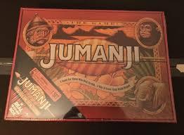 NEW JUMANJI BOARD GAME CARDINAL EDITION REAL WOODEN WOOD BOX MINTY FRESH WOW