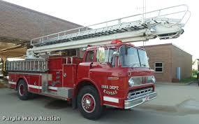 100 Snorkel Truck 1973 Ford Quint B5042 Ladder Fire Truck Item K3078
