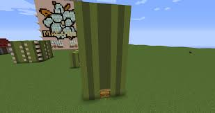 Minecraft Growing Pumpkins by Automatic Melon Farm Minecraft Project