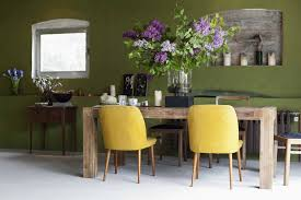 A Beautiful Green Dining Room