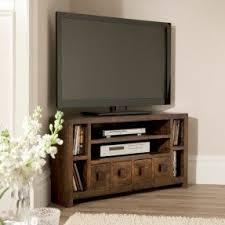Rustic Corner Tv Unit