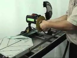 Home Depot Tile Saw Pump by Pearl Abrasive Pa 7 Wet Tile Saw Youtube
