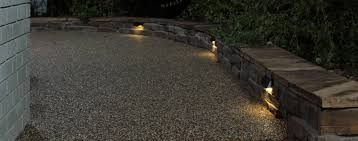 radiance multifunction landscape lights used as led retaining wall