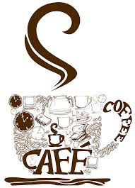 Decorative Coffee Cup PNG Vector Clipart