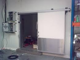porte coulissante chambre froide porte coulissante isotherme négative