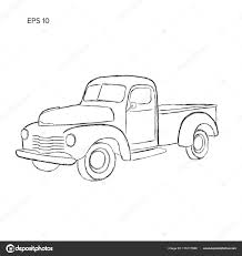 Old Retro Farmer Pickup Truck Vector Illustration. Hand Drawn Icon ... Vector Drawings Of Old Trucks Shopatcloth Old School Truck By Djaxl On Deviantart Ford Truck Drawing At Getdrawingscom Free For Personal Use Drawn Chevy Pencil And In Color Lowrider How To Draw A Car Chevrolet Impala Pictures Clip Art Drawing Art Gallery Speed Drawing Of A Sketch Stock Vector Illustration Classic 11605 Dump Loaded With Sand Coloring Page Kids