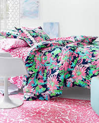 Fancy Lilly Pulitzer Bedding Queen 98 With Additional Black And