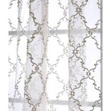 Sheer Curtain Panels 108 Inches by 82 99 Panel Need 2 Overstock This Jonquille Sheer Curtain Panel