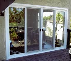 glass door Vinyl Sliding Glass Dog Door How To Install Patio Doors