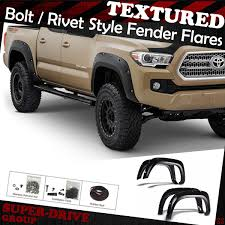 100 Wheel Flares For Trucks PocketRiveted Textured Fender 20162018 TOYOTA TACOMA