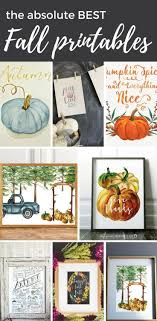 The Absolute BEST Fall Printables