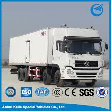 5 Tons Cold Plate Freezer Vehicles Refrigerator Truck - Buy Freezer ...