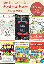 Coloring Books That Teach And Inspire Gods Word