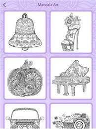 Mandala Coloring Book Image
