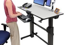 Ergotron Sit Stand Desk by Ergotron Workfit D Sit Stand Desk An In Depth Review Regarding
