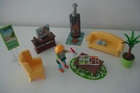 playmobil dollhouse 5308 wohnzimmer mit flackerndem