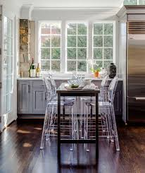 A Dining Room Table And Chairs Remodeled Kitchen