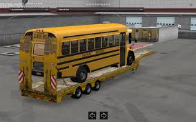 School Bus Trailer 1.6.x • ATS Mods   American Truck Simulator Mods Life Of An American Truck Driver Youtube Kenworth 521 Images From Finchley Skin Greyhound Bus For Ats Mod Simulator The State Trucking Schools Jobs Old School Kneworth Livestock Haul All Driving Best In Orange County America Commercial In An Official Trailer Theres A Huge Shortage Of Drivers Heres Why Transportation Car Born Stock Vector 558520807