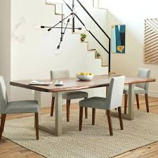 Live Edge Wood Dining Table West Elm Tables And Chairs Only India