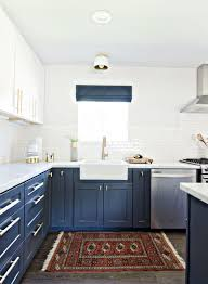 Photo 1 Of 5 Navy Blue Kitchens On Pinterest
